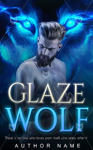 Fantasy-book-cover-Shirtless-Posing-Bodybuilder-Wolf-design-Glaze-Athlete-Handsome-Gesturing-Torso-Sporting-Athletic-Muscular