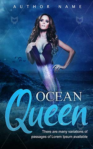 Fantasy-book-cover-Woman-Sea-Ocean-Elegance-Lovely-Pretty-Queen-Princess-Beauty-Girl