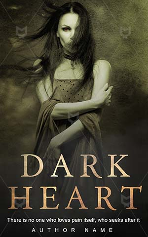 Horror-book-cover-scary-woman-heart