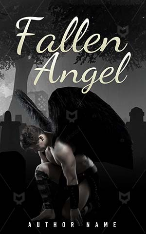 Horror-book-cover-fallen-angel-dark