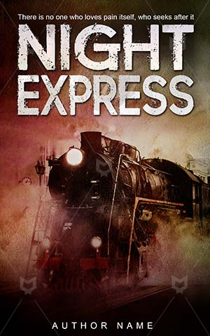 Horror-book-cover-train-night-express