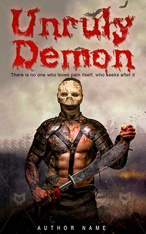 Horror-book-cover-unruly-demon-scary