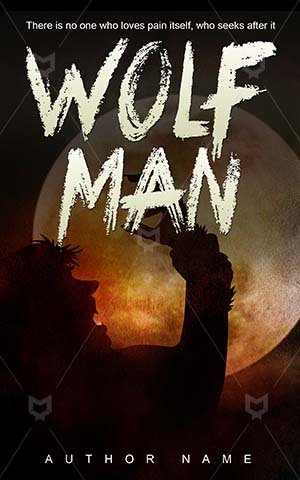 Horror-book-cover-scary-wolf-man