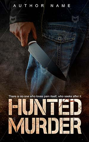 Horror-book-cover-killer-hunted-murder