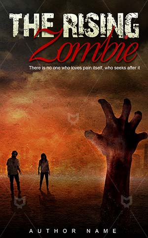 Horror-book-cover-rising-zombie-scary