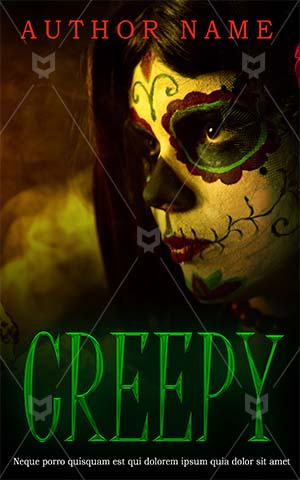 Horror-book-cover-scary-halloween-mask-women-party