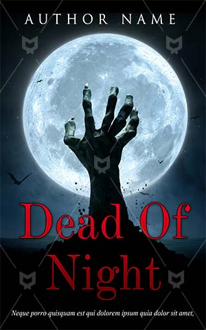 Horror-book-cover-moon-undead-halloween-scary