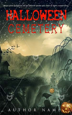 Horror-book-cover-cemetery-scary-halloween-pumpkin-horror