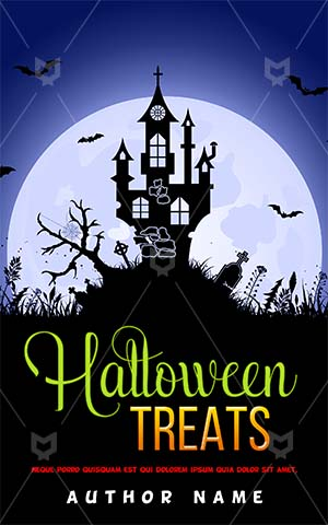 Horror-book-cover-halloween-haunted-house-scary-moon