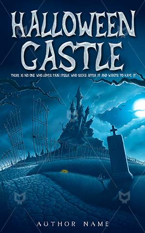 Horror-book-cover-halloween-castle-dark