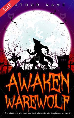 Horror-book-cover-awaken-scary-warewolf