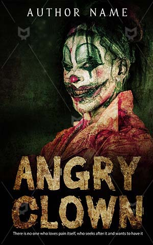 Horror-book-cover-angry-scary-clown