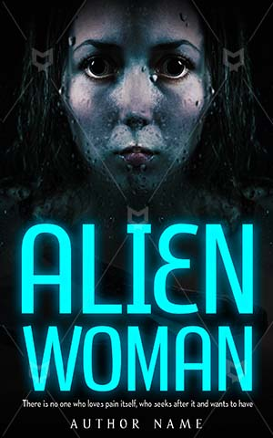 Horror-book-cover-scary-alien-woman