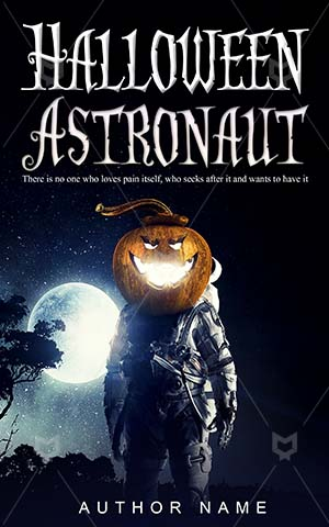 Horror-book-cover-spooky-halloween-astronaut