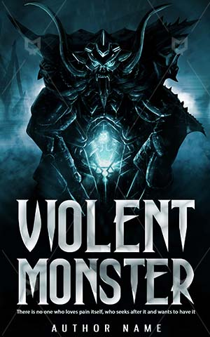 Horror-book-cover-scary-monster-violent