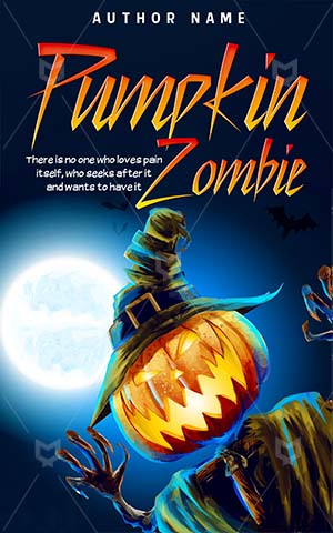 Horror-book-cover-zombie-pumpkin-scary
