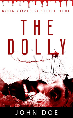 Horror-book-cover-thriller-ghost-Doll-blood