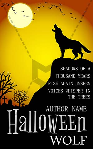 Horror-book-cover-wolf-scary-mountain-halloween-moon