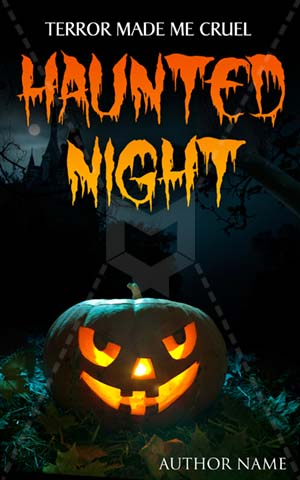 Horror-book-cover-halloween-Haunted