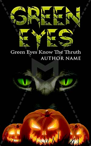 Horror-book-cover-spooky-scary-eyes-green