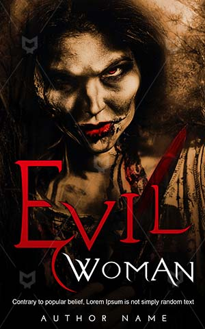Horror-book-cover-Blood-Night-Woman-Devil-woman-Danger-Dark-Nightmare-Nightmares-Demon