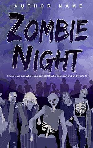Horror-book-cover-Dangerous-Zombie-covers-Zombies-Monster-Spooky-eater-Vector-night
