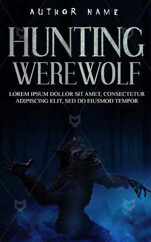 Horror-book-cover-Evil-Night-Wolf-Animal-Fantasy-Werewolf-picture-Danger-Scary-Halloween-Dark