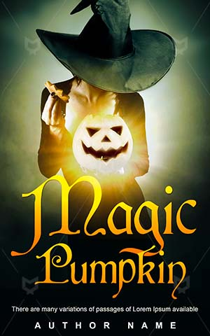 Horror-book-cover-Magic-Pumpkin-Female-Mystery-Evil-Scary-Gothic-Best-horror-covers-Halloween-Witch