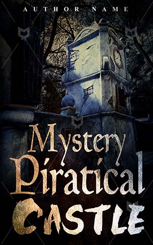 Horror-book-cover-Mystery-Spooky-Castle-Dark-scary-forest-Piratical-castle-Fairy-Fear-Fort