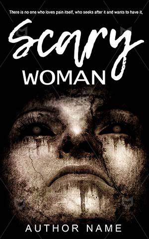 Horror-book-cover-Scary-design-Woman-Scream-for-help-Help-Death-horror-Face-Black-Silhouette-Grunge-Eyes-Spooky