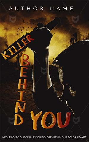 Horror-book-cover-scary-knife-man-with-horror-covers-killer-dark-city-war-dangerous-design