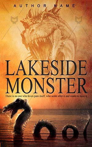 Horror-book-cover-Scary-Monster-Nest-Dragon-covers-Water-Animal-Sea-Swimming-Lake-Reptile-Beast-Creature-Medieval