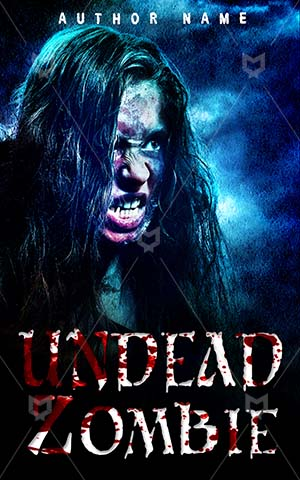 Horror-book-cover-Undead-Monster-Nightmare-Dark-Zombie-halloween-Woman-apocalypse-Dangerous-Hunting-Scary-zombie-face