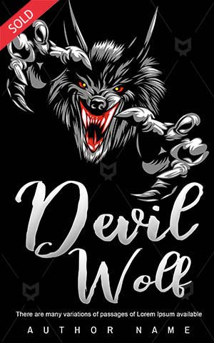 Horror-book-cover-Wolf-Devil-White-design-Danger-Animal-Angry-Halloween-Claw-Scary-ideas-Fear
