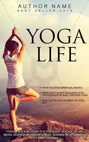Nonfiction-book-cover-freely-life-freedom-yoga-meditation