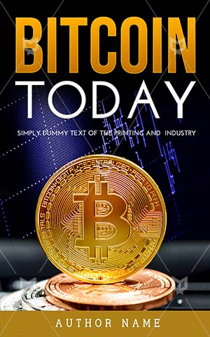 Nonfiction-book-cover-Bitcoin-business-Commerce-Network-Bank-Premade-non-fiction-covers-Financial-Gold-Business-Economy-E-Today