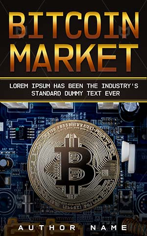 Nonfiction-book-cover-Bitcoin-Money-Non-fiction-Gold-bitcoin-E-commerce-Trade-Banking-Cash-Electronic-Currency-Market-Business