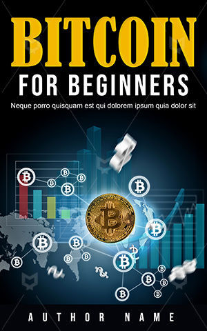 Nonfiction-book-cover-Digital-Currency-Bit-Coin-Money-design-Bitcoin-Network-Buy-Non-fiction-Gold-Market-Symbol
