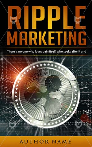 Nonfiction-book-cover-Marketing-Ripple-Money-Currency-Virtual-Crypto-currency-money-Market-Coin