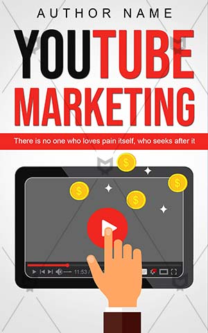 Nonfiction-book-cover-Money-Concept-Video-Youtube-marketing-Online-Marketing-Advertising-covers-Media-Blog