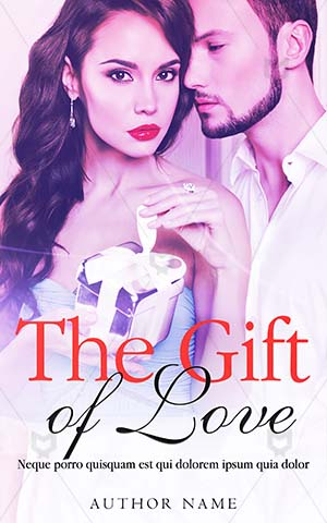 Romance-book-cover-gift-love-couple