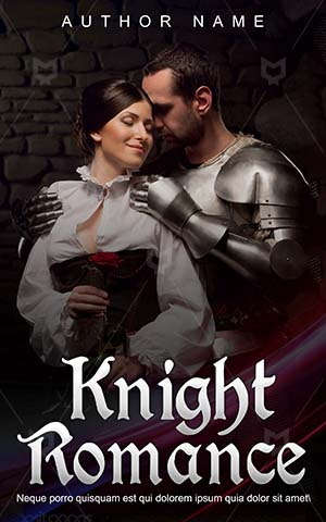 Romance-book-cover-knight-love-couple