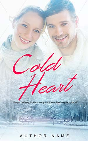 Romance-book-cover-cold-heart-couple