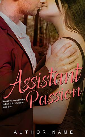 Romance-book-cover-assistant-passion-couple