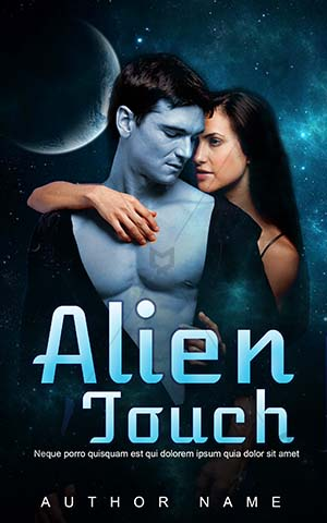 Romance-book-cover-alien-touch-love