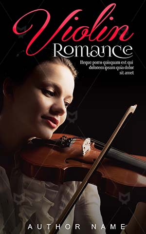 Romance-book-cover-violin-girl-love