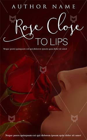 Romance-book-cover-romance-love-rose-red-lips-face