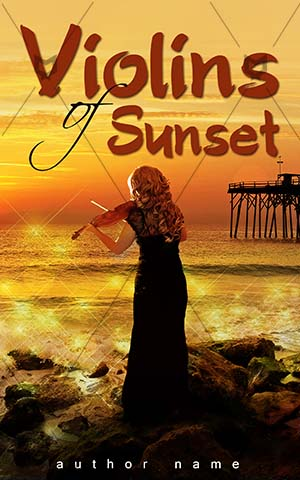 Romance-book-cover-violin-sunset-romance