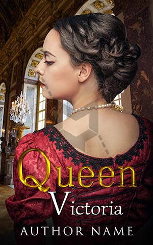 Romance-book-cover-queen-red-women