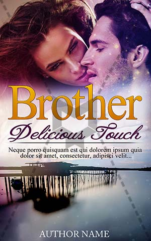 Romance-book-cover-delicious-romance-brother